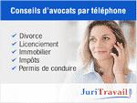 Profitez de conseils juridiques de la part d'avocat par téléphone