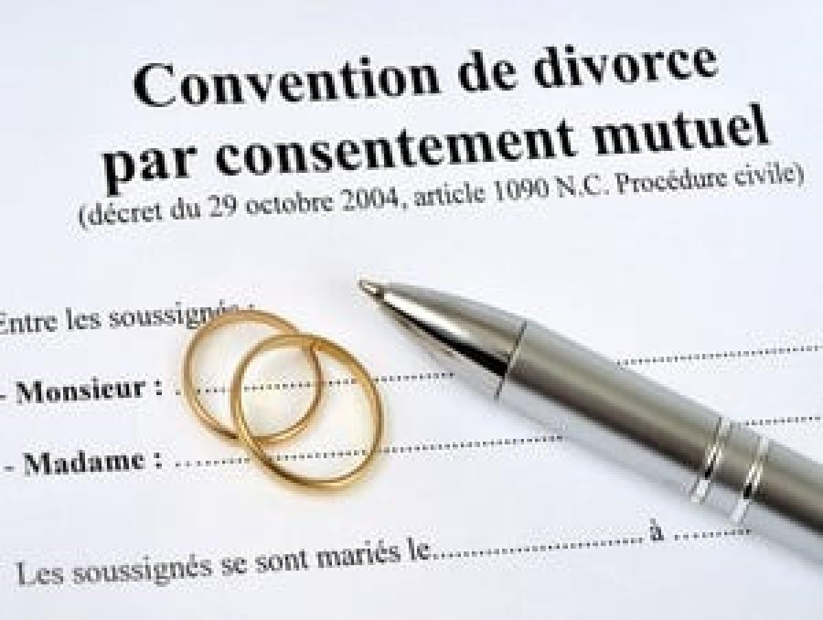 Divorce par consentement mutuel : Procédure simplifiée, délai, coût, …