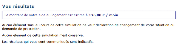 estimation allocation logement