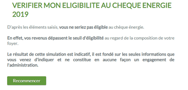 test cheque energie