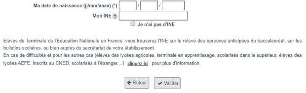 Créez votre dossier sur Parcoursup.fr
