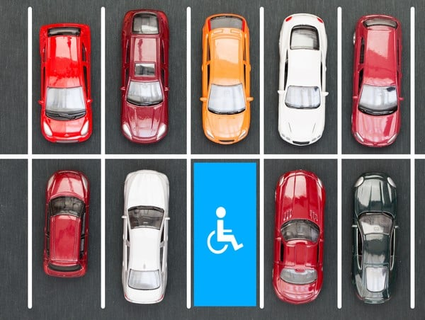 stationnement place handicapé