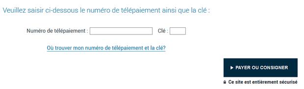 Consigner votre amende directement en ligne