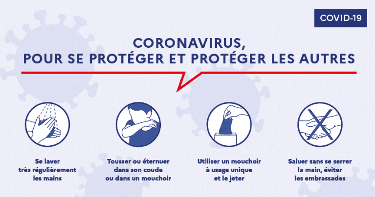 protection contre le coronavirus