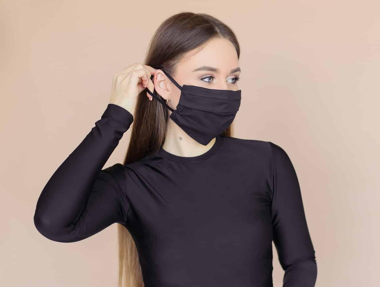 comment sécher votre masque en tissu