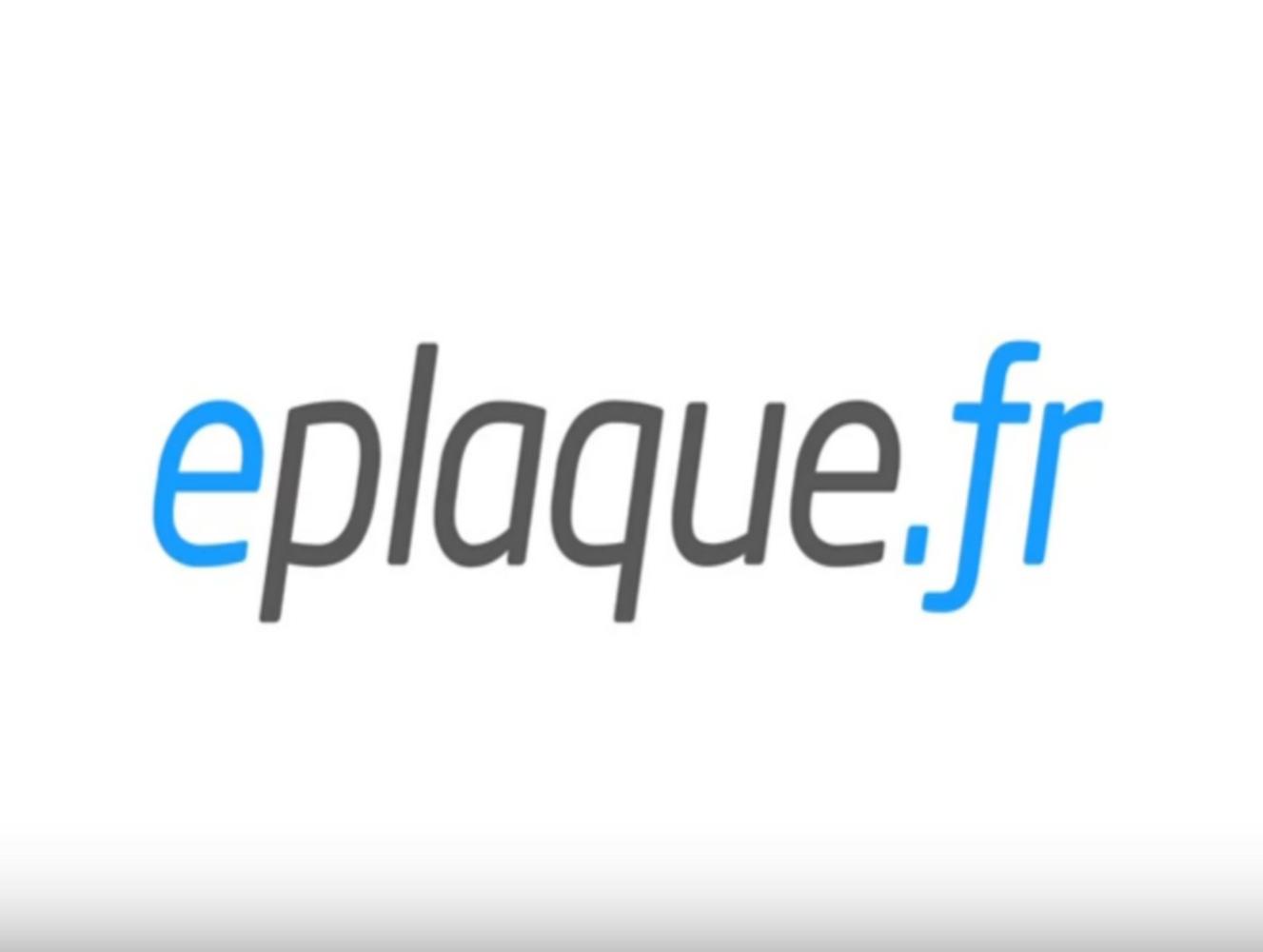 plateforme eplaque.fr